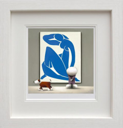 Dogmatic View About Matisse - Framed