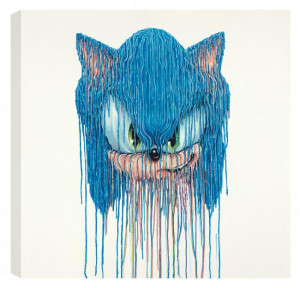 sonic - box canvas