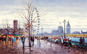 westminster morning  - board only