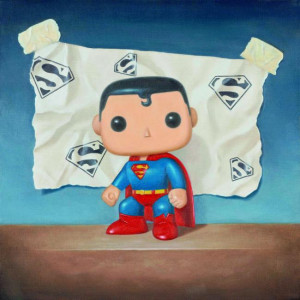 man of steel - board with slip