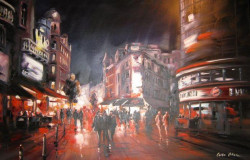 Leicester Square In The Evening II