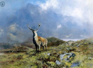 The Prince Of Rannoch Moor - Print only