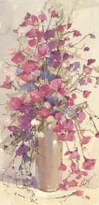 Sweet Peas II - Mounted