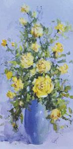 Spring Romance (Roses) - Mounted