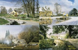 cotswolds - four seasons portfolio (set of 4) - print only