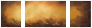 Towards The Light (Triptych) - Mounted
