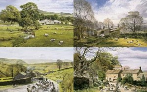 ingham's england -  the dales portfolio (set of 4) - print only
