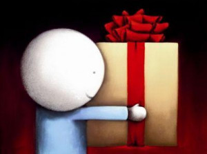 the gift - mounted