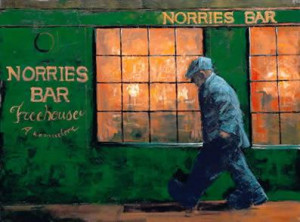 norries bar - mounted