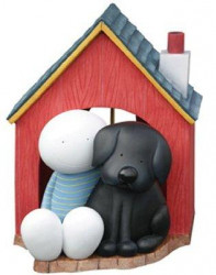 In The Dog House - Sculpture