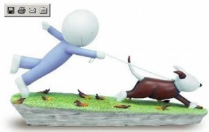 catch me if you can - sculpture