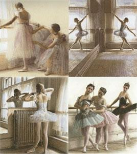 Dance Portfolio (Set of 4) - Mounted