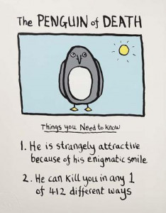 The Penguin Of Death - Print only