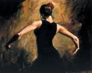 Rhythm Of The Dance - Canvas - Board Only