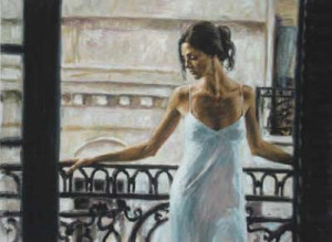 Balcony At Buenos Aires I - Canvas - Board Only