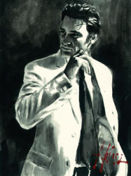 Study For Marcus In White
