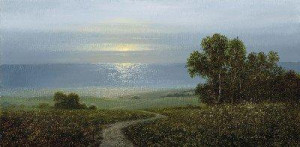 Devon Coast At Sunrise - Mounted