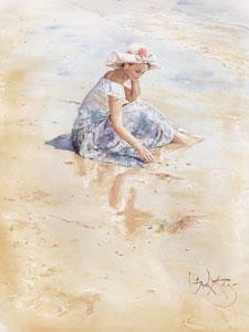 On The Beach - Print only