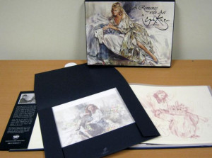 a romance with art - deluxe & hand remarqued edition