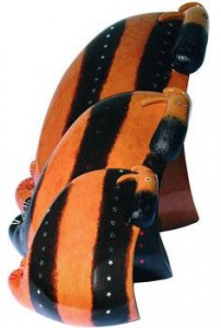 guppie, smallweed and plank
