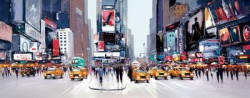 Morning On Broadway - Canvas (New York)