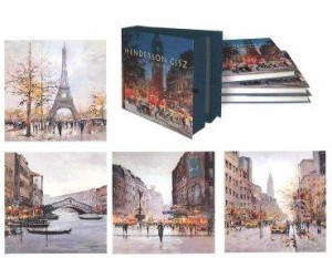 city living book & four le prints