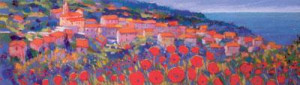 Poppies, Corsica - Mounted