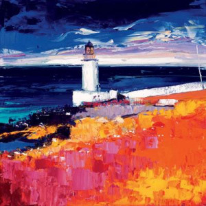 The Lighthouse, Loch Indaal - Mounted