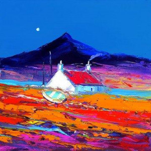 Croft and Boat, North Uist - Board Only