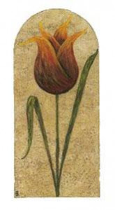 Treasured Tulips - Mounted