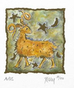 aries - mounted