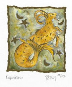 Capricorn - Mounted