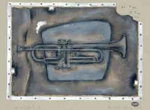 instrumental iv (trumpet) - mounted