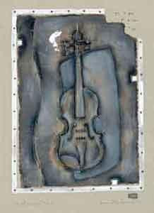 instrumental i (violin) - mounted
