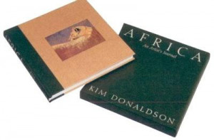 an african journal - deluxe book