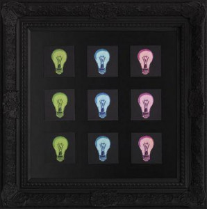 bright ideas - framed