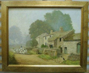 thorpe, upper wharfedale - framed