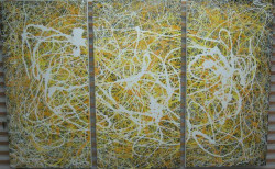 Conflict With Response (Triptych)