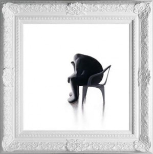 thinker - framed
