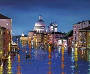 venetian lights - with slip