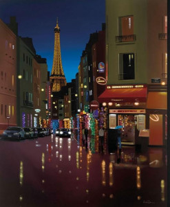 parisienne twilight - with slip