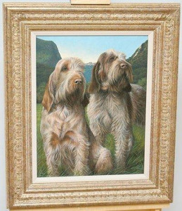 latin spirit - spinone - framed