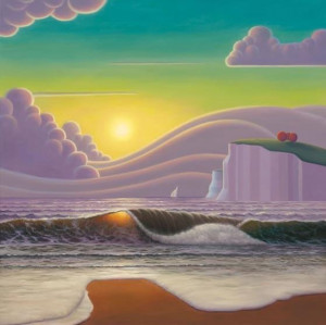 Sailing Into The Sunset - Canvas With Slip