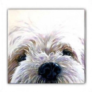 Westie (Canvas) - West Highland Terrier - Box Canvas