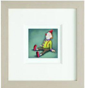 The Little Clown - Framed