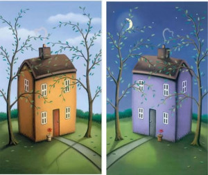 Safe & Sound - Diptych - Mounted
