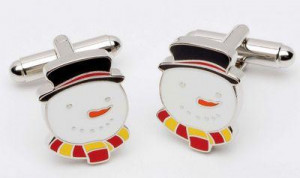 man of snow - cufflinks