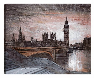 Houses Of Parliament - Box Canvas