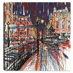 Piccadilly Passion - Box Canvas