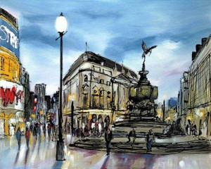 Piccadilly - Box Canvas